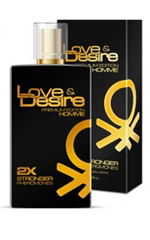 Love & Desire GOLD dobbelt koncentreret miehille 100 ml EdP