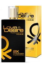 Love & Desire GOLD dobbelt koncentreret naisille 100 ml EdP